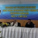 Pemberian Materi Oleh Kepala Bagian Kepegawaian - BAUK Universitas Brawijaya